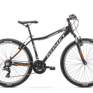Rower górski MTB Romet Rambler R6.0 JR 26 czarno-pomarańczowy