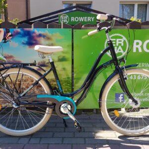 Rower miejski Romet Pop Art Classic 26 czarny