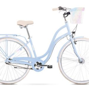 Rower miejski Romet Pop Art Classic 28 niebieski