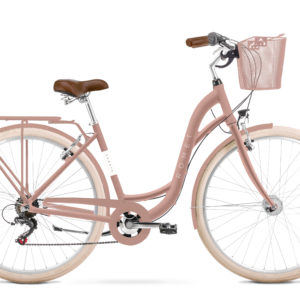 Rower miejski Romet Sonata Eco 28 różowy