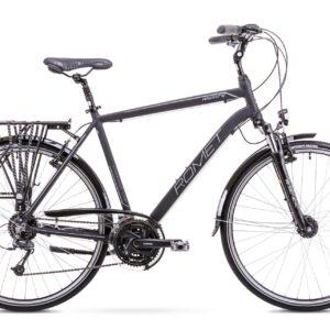 Rower trekkingowy Romet Wagant 4 28 czarno-srebrny