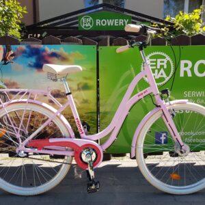 Rower miejski Romet Pop Art Classic 26 różowy