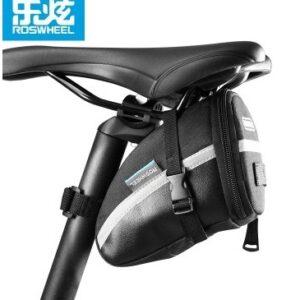 Sakwa rowerowa pod siodło ROSWHEEL 1,2L wodoodporna czarna